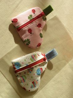 Herztascherl für kleine Geschenke.