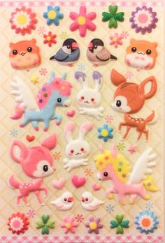 /kawaii-stickers-adorable-japanese-design unicorn stickers!