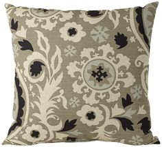 "Fergana Fog 18"" Pillow 