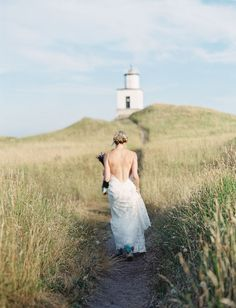 My dream wedding is a lighthouse elopement; love this pic, will have to keep it in mind.