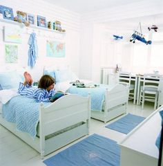 My boys would love this room Cool Bedrooms For Boys, Kids Bedroom, Kids Rooms, Bedroom Ideas, Twin Babies, Baby Twins, Kids Decor, Home Decor, Kid Spaces
