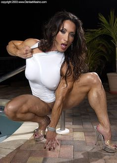 Bodybuilder porn masino denise not so