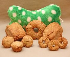 Doggy Doughnuts - www.doggydoughnuts.com - the all natural, gluten free, low fat dog treat!
