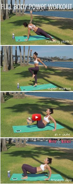 Join me for today's full body power smash workout! Just 15 minutes, no equipment needed!!
