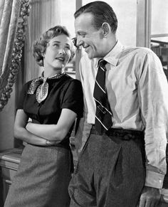 Jane Powell and Fred Astaire in Royal Wedding (1951).