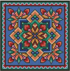 Схемы вышивки крестом! — Fotoğraflar | OK.RU Cross Stitch Geometric, Cross Stitch Borders, Modern Cross Stitch Patterns, Cross Stitch Flowers, Cross Stitch Designs, Cross Stitching, Cross Stitch Embroidery, Needlepoint Patterns, Embroidery Patterns
