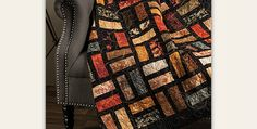 Your Favorite Colors Will be Just as Lovely! Luscious autumn colors are so beautiful in this easy quilt. The black sashing and borders make the colors seem to glow. The quilt will be beautiful in other colors as well. Make one for another season or to match your decor. You can even choose a coordinating …