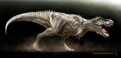 Tyrannosaurus rex by ~Swordlord3d on deviantART