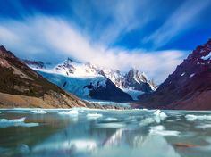 As south as south gets in the Western hemisphere, blending Argentina with Chile, mountains with desert, Pacific with Atlantic, Patagonia is among the world