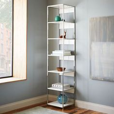 """Lacquer Storage Bookshelf - 17"""" 