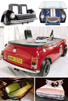 Converted Car Furniture: Rev Up Your Couch   WebUrbanist