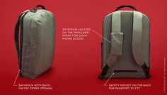 Anti-Theft Defender Backpack: Fight Theft & Secure Your Stuff