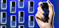 Niebieskie paznokcie – hit na jesień
