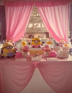 Minion girl Birthday Party Ideas | Photo 3 of 6 | Catch My Party