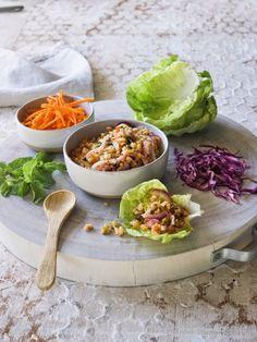 Spicy Shrimp Salad Rolls - Hundred Recipes + Click For Recipe