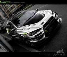 Awesome Cars tuning in Photoshop by Richard Andersen