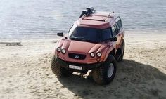 Aton Impuls Viking (Amphibious vehicle)