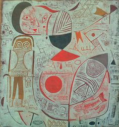 Paul Klee - Printed Sheet with Pictures, 1937 (27,9 x 35,6 cm)