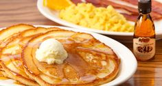 Cracker Barrel buttermilk pancakes recipe.