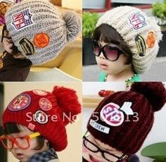 Winter baby hats