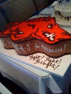 Razorback Grooms cake