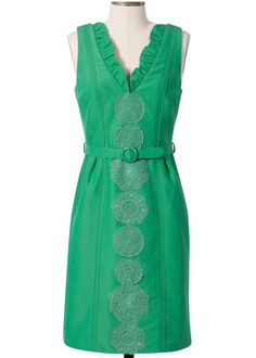 Thea Kelly Dress from Frock by Tracy Reese #dress #clothing #green @LaylaGrayce