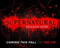 I always love to seethe new title cards! Surely this isn't the actual one for season though, because its very similar to Season I can't wait to see what they come up with for title card! Supernatural Cartoon, Supernatural Pictures, Supernatural Tv Show, Supernatural Seasons, Title Card, Beautiful Posters, Winchester Boys, Happy Dance, Super Natural