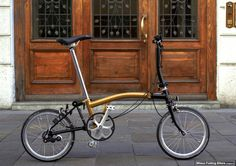 #Brompton_Limited_Edition by Milano Folding Bikers. Here complete photo presentation: http://milanofoldingbikers.blogspot.it/2014/10/limited-edition-brompton.html