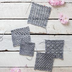 Lace Knit Patterns In this tutorial, you will learn five different lace patterns and the details required to transform these beautiful pieces into a simple shawl.