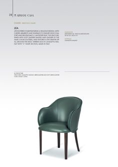 Chairs | Armani/Casa