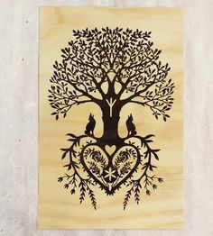 Tree Of Life Print by Little Gold Fox Designs on Scoutmob Shoppe