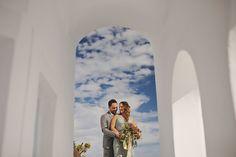 Boho Elopement in Santorini | Greece Mykonos Santorini Athens Wedding Photographer
