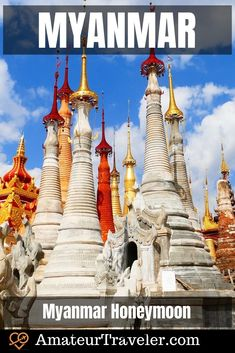 Myanmar tourism sites include ancient temples, pagodas and palaces, but the country also includes enough activites to recommend a Myanmar honeymoon Asia Travel, Solo Travel, Myanmar Travel, Travel Trip, Travel Plan, Travel Destinations, Backpacking India, Backpacking South America, Air Balloon Rides