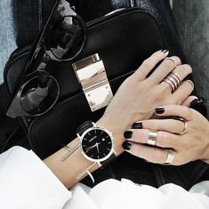 Simple Rings to Stack or Spread Apart #fashion&jewelry
