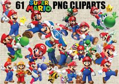 Super Mario Bros Cliparts 61 Images in PNG by CartoonCliparts
