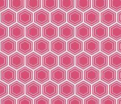 honeysuckle honeycomb fabric by amybethunephotography on Spoonflower - custom fabric