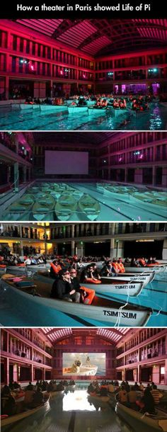 A Theatre in Paris Showing Life of Pi