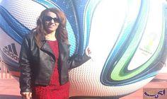 """حنان الشفاع تحطم قاعدة إعلام الرياضة للرجال…: تعد الإعلامية حنان الشفاع عن صحيفة """"المنعطف""""، من الكفاءات النسائية المغربية التي حاربت الصورة…"""