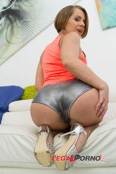 Sasha Zima 100% double anal for amazingly perfect round ass (0% pussy DAP) SZ1587