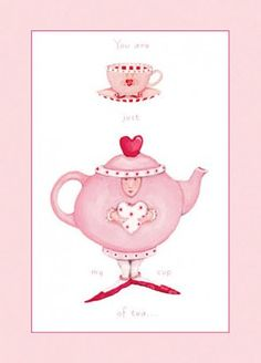 Who is your Valentine? February 14th is just a month away! #Valentine #PatienceBrewsterCards