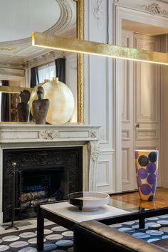 elegant and dramatic interior design ideas by Gerard Faivre Paris 9