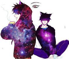 Neko Cat, Anime Neko, Anime Manga, Anime People, Anime Guys, Boy Tumblr, Galaxy Drawings, Anime Bleach, Anime Stars