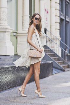 08711adef981 White summer dress Fashion Mode