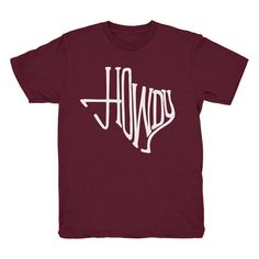 Howdy, Texas T-shirt (2 Color Options)