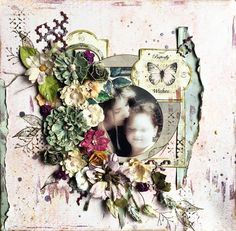 Raining's Gallery: Butterfly Wishes *Scraps of Elegance Kit Club*