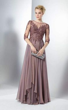 d813d405456adc Pleated Perfection Full Length Gown by MarsoniA romantic