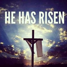 LET'S NOT FORGET THE TRUE MEANING OF EASTER REPRESENTS HE HAS RISEN!!!!!!!!! THANK YOU LORD FOR DIEING FOR ME!