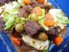 Mely's  kitchen: Beef with  peanut sauce
