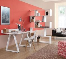 Give a touch of colour to your home with Sico! We offers an extensive range of high quality paint products and an exceptional colours. Pantone, Coral Living Rooms, Coral Bedroom, Decoration Ikea, Small Apartment Decorating, Deco Design, Open Plan Living, Interior Exterior, Room Colors
