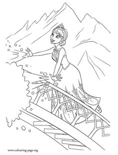 15 Free Disney Frozen Coloring Pages Disney frozen Free and Craft